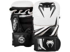 sparring gloves venum challenger white black f1