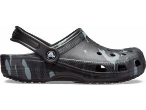 Crocs Classic Seasonal Graphic Clog Black/Grey