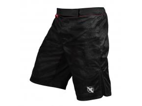 mma shorts hayabusa hexagon black f1