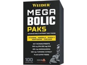 Weider Mega Bolic Paks 100 kapslí