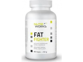 NutriWorks Fat Fighter 90 kapslí
