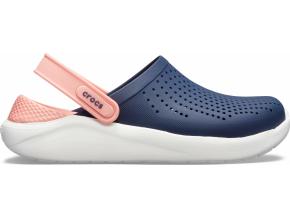 Crocs LiteRide Clog - Navy/Melon