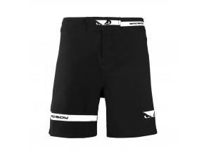 mma shorts badboy oss black f1