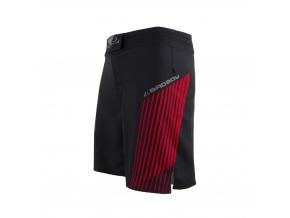 mma sortky shorts bad boy evo black red f1