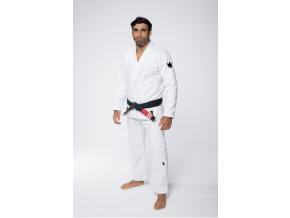 bjj gi kimono kingz one white bile jiu jitsu f1