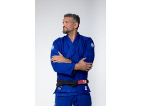 bjj gi kimono kingz one blue modre jiu jitsu f4