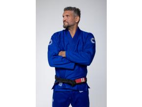 bjj gi kimono kingz classic2 blue modre jiu jitsu f3