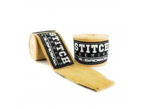 BadBoy Handwraps Stitch Premium Sand 01