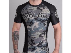 rashguard valor liquid camo jungle f1