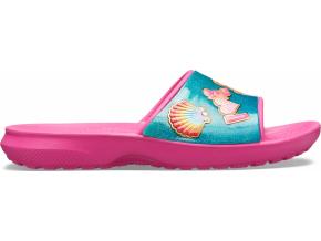 CrocsFL BeachFun Slide K - Fuchsia