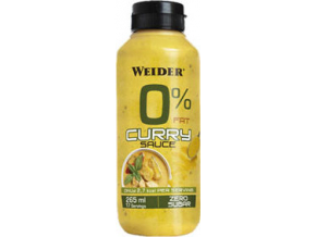Weider 0% Fat Curry omáčka 265 ml