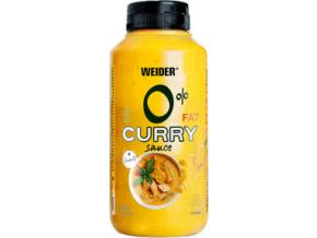 Weider 0% Fat Curry omáčka 265 ml