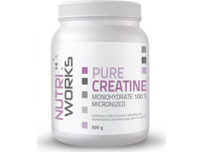 NutriWorks Pure Creatine Monohydrate 500 g