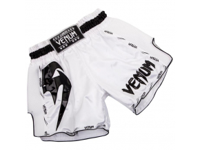 venum short muay giant white black f1