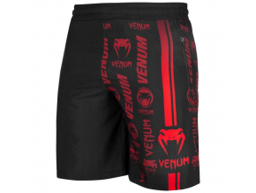venum 03447 100 training short logos black red f1