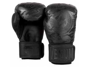 venum 03169 114 boxing gloves box rukavice dragons flight black black f3