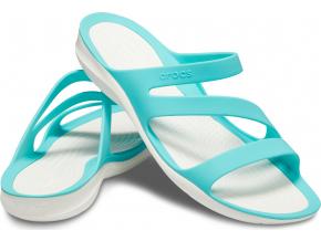 Crocs Swiftwater Sandal W - Pool/White