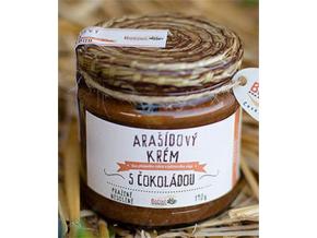Božské oříšky Arašídový krém s čokoládou 190 g