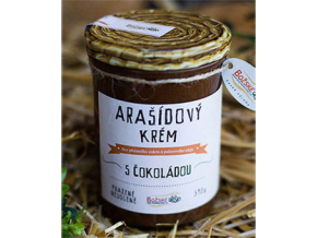 Božské oříšky Arašídový krém s čokoládou 390 g