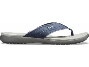 Crocs Santa Cruz Canvas Flip M - Navy/Light Grey