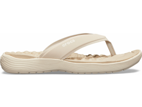 Crocs Reviva Flip W - Cobblestone/Stucco