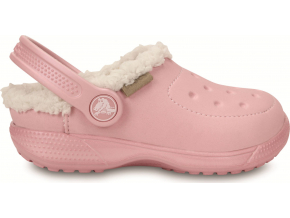 Crocs ColorLite Lined Clog Kids Peal Pink/Oatmeal