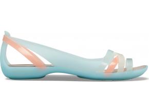 Crocs Isabella Huarache 2 Flat W - Ice Blue/Platinum