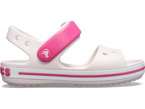 Crocs Crocband Sandal Kids - Barely Pink/Candy Pink