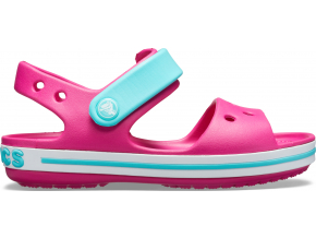 Crocs Crocband Sandal Kids Candy Pink/Pool