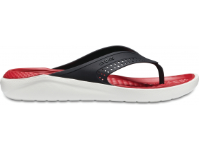 Crocs LiteRide Flip - Black/White