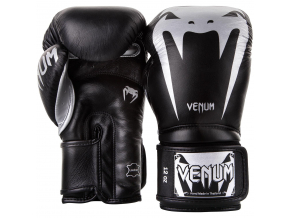 venum 2055 128 boxing gloves boxerske rukavice giant 3.0 black silver f2