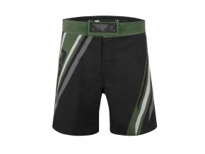 mma shorts badboy pro series black green kratasy f1