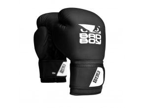 BadBoy Active BoxingGloves Black boxerske rukavice f1