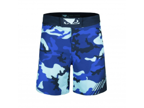 mma fightshorts sortky bad boy soldier training blue f2