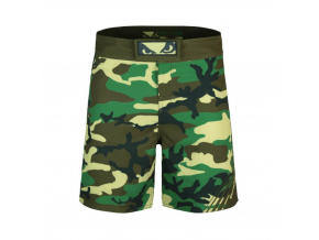 mma fightshorts sortky bad boy soldier training green f1
