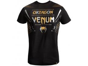 venum 03872 538 tshirt triko oktagon black gold f1
