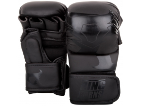 rh 00027 114 sparring gloves charger black black rukavice f1