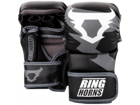 rh 00027 001 sparring gloves charger black rukavice f1