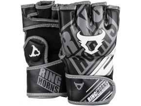 rh 00008 001 mma gloves nitro black rukavice f1