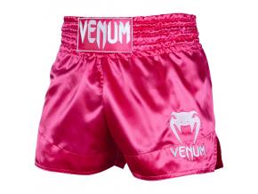 shorts venum muay thai classic pink f1