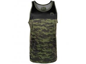 tank top venum trooper forest camo black f1