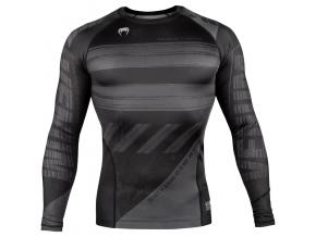 venum 03694 109 rashguard long sleeves dlouhy rukav amrap black grey f1