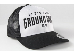 Kšiltovka Ground Game KANJI WHITE TRUCKER