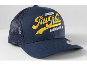Kšiltovka Ground Game JIU JITSU NAVY TRUCKER