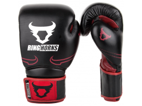 rh 00003 100 ringhorns rukavice boxerske bosing gloves destroyer black red f1