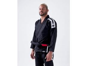 bjj brazilian jiu jitsu gi kimono kingz sport black cerne f1