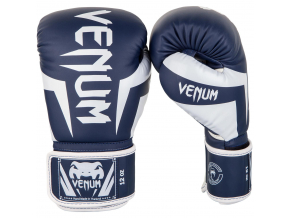 venum 1392 410 boxing gloves boxerske rukavice elite navyblue white f1