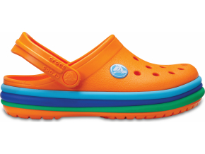 Crocs CB Rainbow Band Clog K Blazing Orange