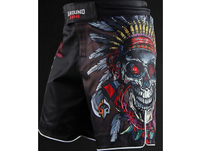 MMA kraťasy Ground Game INDIAN SKULL