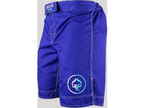 MMA kraťasy Ground Game ATHLETIC RIPSTOP - modré